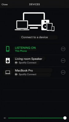 spotify account logged in on multiple devices