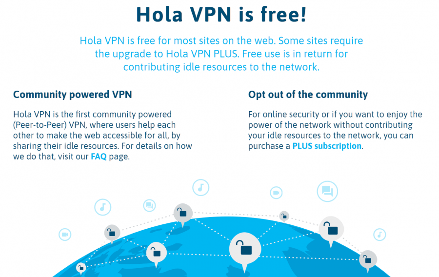 hola vpn android