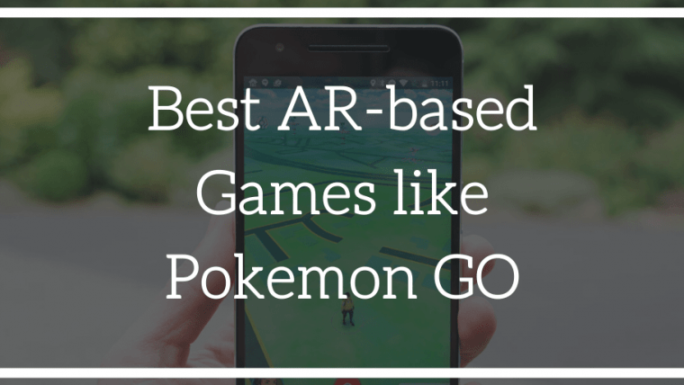 featured image for best ar-based games like Pokemon Go for Android
