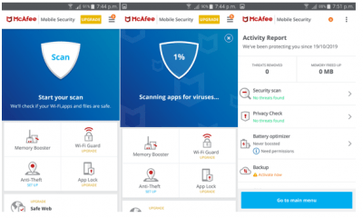 mcafee antivirus for android