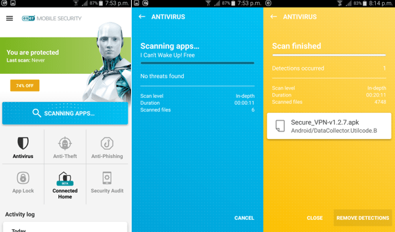 eset antivirus and anti-malware for android