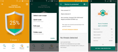 kaspersky antivirus and anti-malware for android