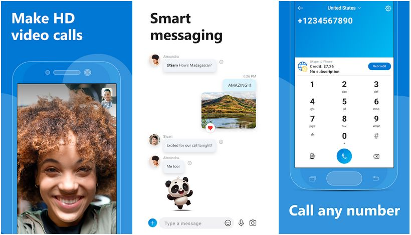skype free instant messaging and calls
