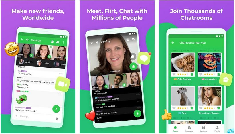 camfrog flirt and video chat with strangers