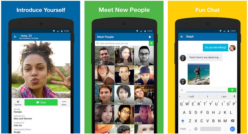 skout chat meet and go live on Android