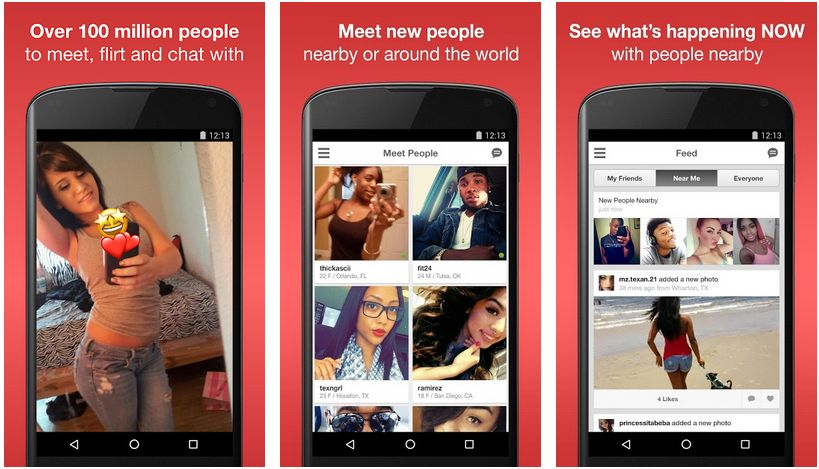 moco meet new people on android