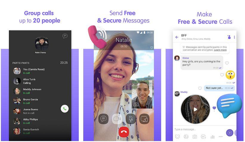 viber video call app