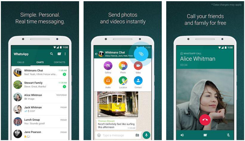 whatsapp messenger free video calling