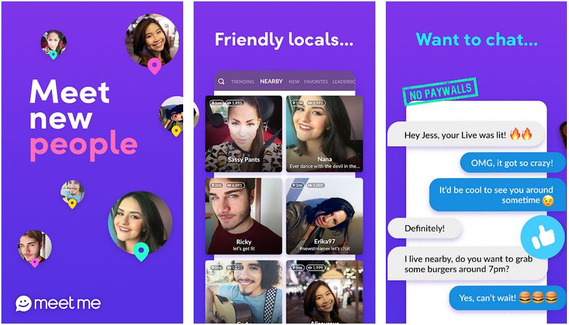 meetme chat room app and connect with new people