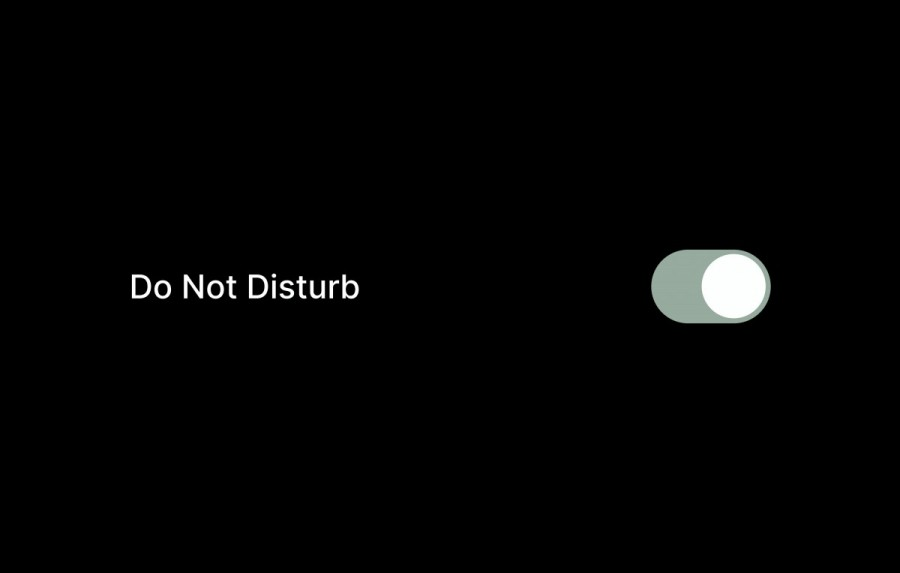 do not disturb function android