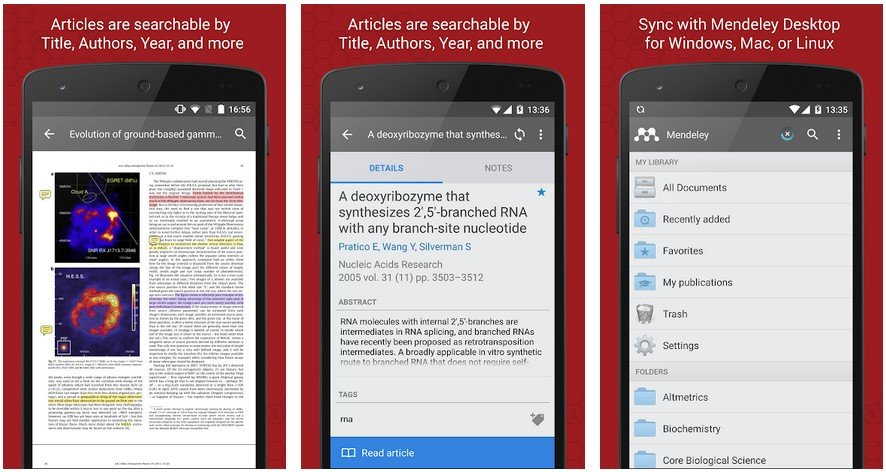 mendeley android