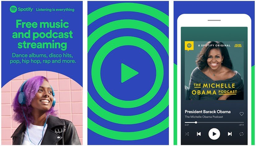 music streaming apps spotify