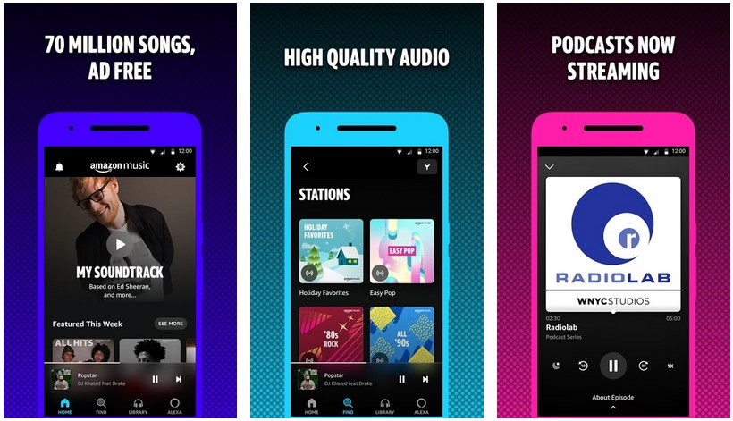 amazon music streaming service