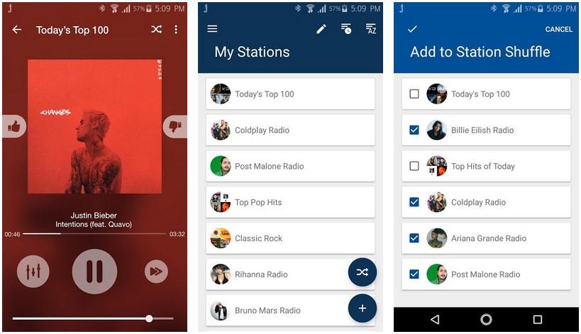 jango radio streaming android