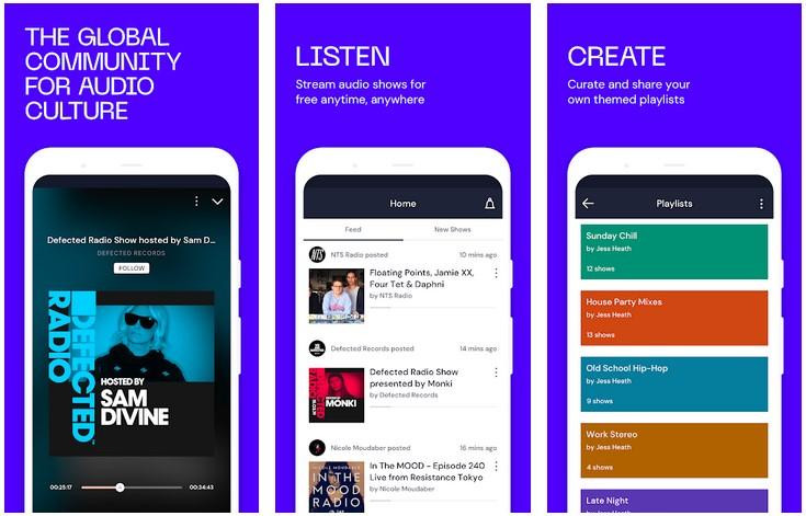best music streaming mixcloud