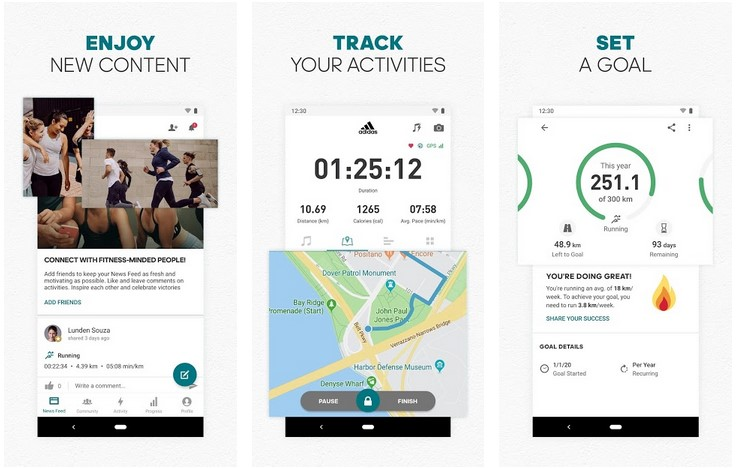 Runtastic Run Tracker by Adidas