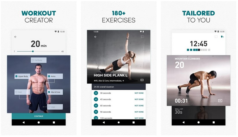 Runtastic Workout Fitness by Adidas