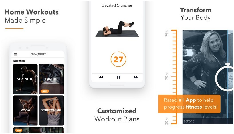 Sworkit Fitness Android