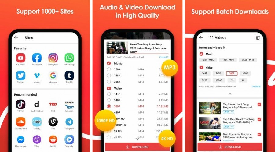 vidmate for android app