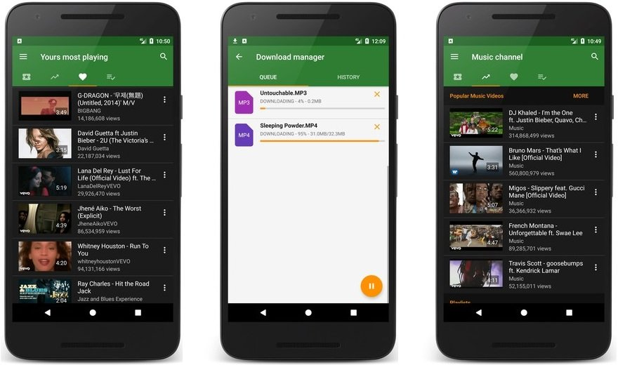 ymusic for android