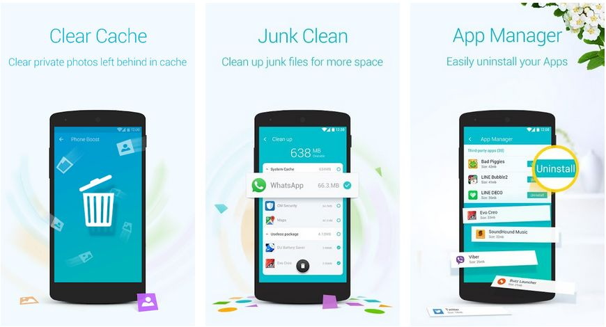 booster and cleaner android