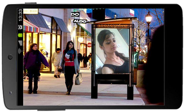 photo frames hoarding