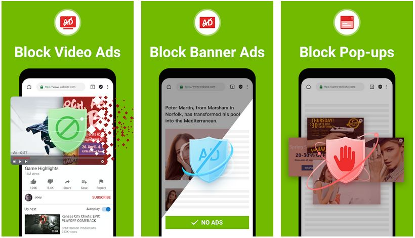 adblock browser rocketshield