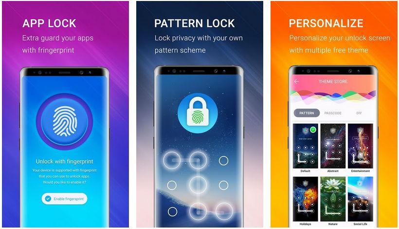 applock fingerprint and pasword