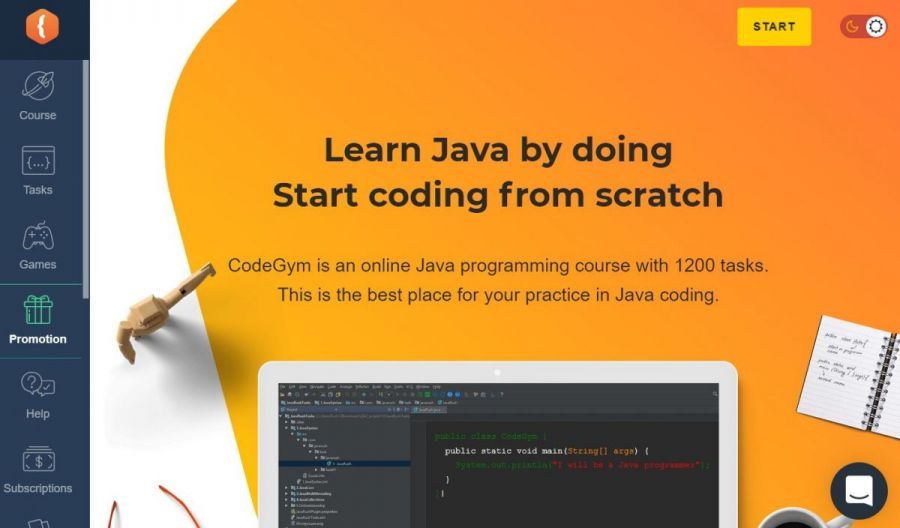 learn java at codegym