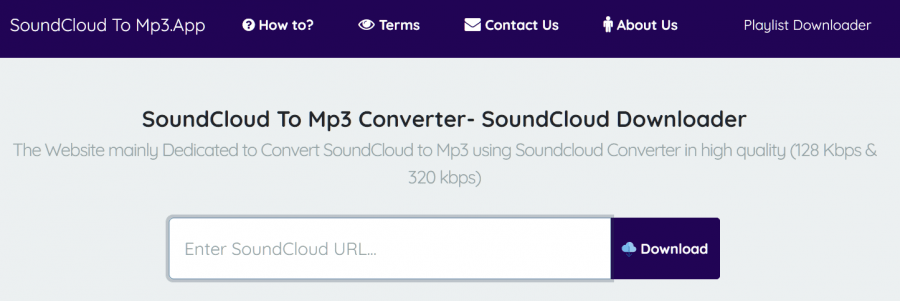 soundcloudtomp3 app