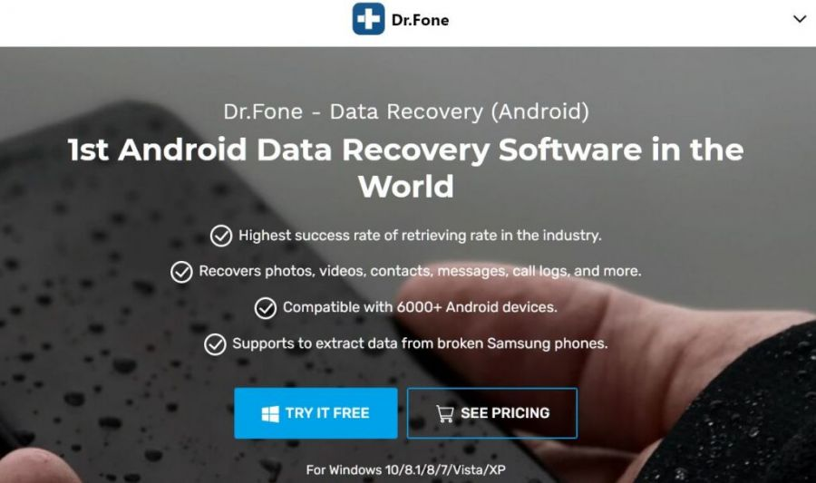 dr. fone recover deleted android data
