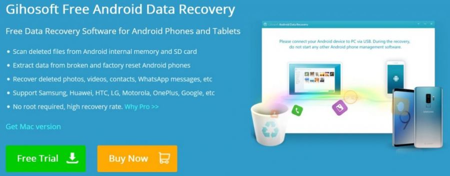 gihisoft android data recovery