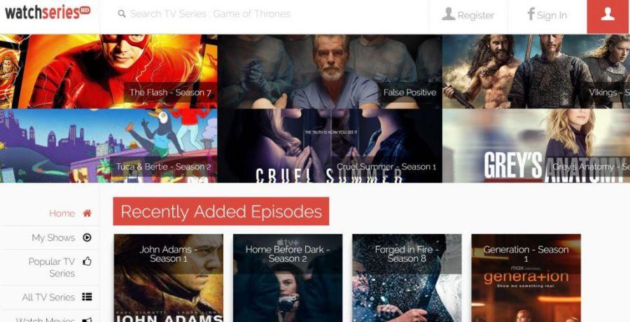 stream tv shows online on watchserieshd