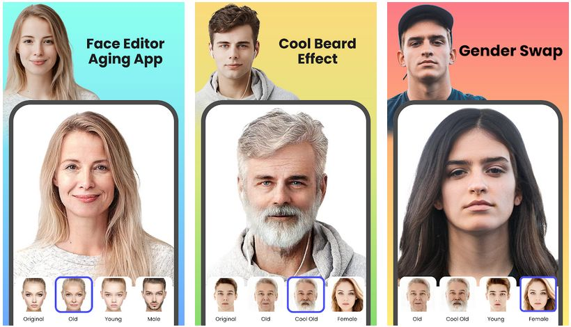facelab android screenshots